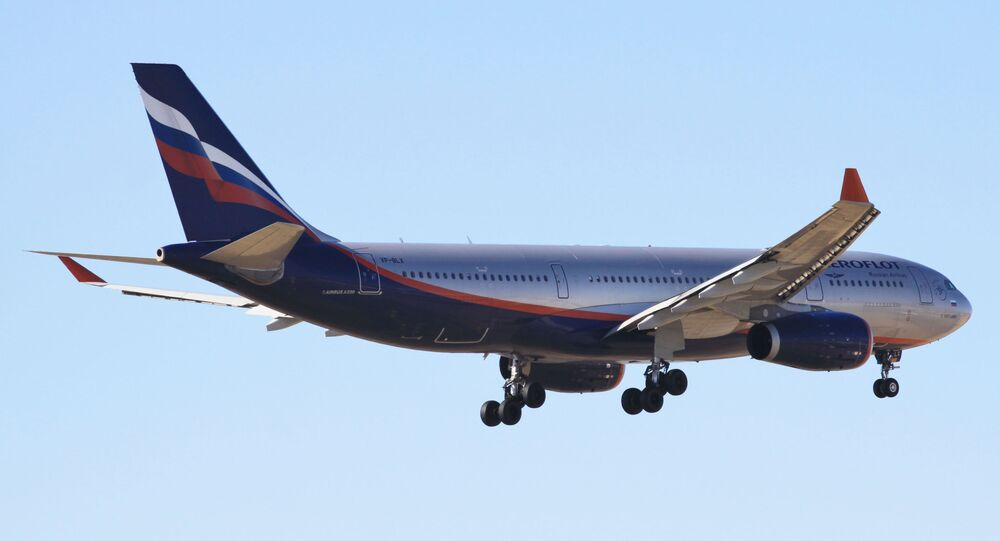 Un Airbus A330 d'Aeroflot (archive photo)