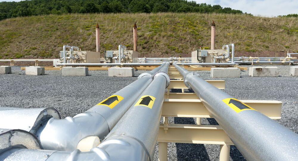 Des tubes destinés au gaz de schiste en Pennsylvanie (archive photo)