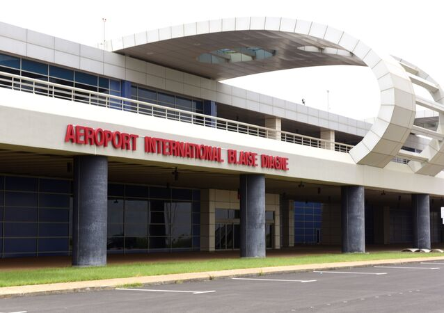 L'aéroport international Blaisse Diagne, au Sénégal