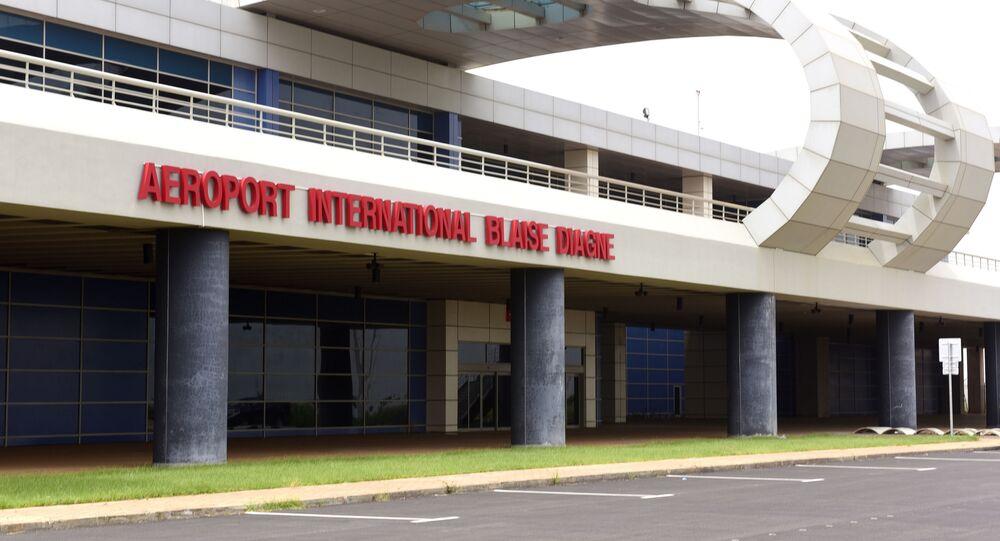 L'aéroport international Blaisse Diagne, au Sénégal