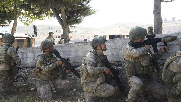 Des soldats turcs en Syrie (archive photo) - Sputnik France