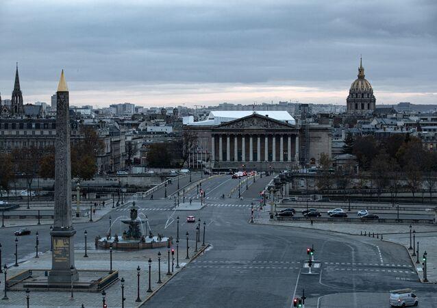 Paris le 16 novembre, alors que le reconfinement est en vigueur
