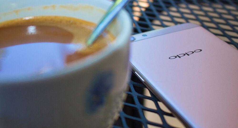 Un smartphone d'Oppo (image d'illustration)