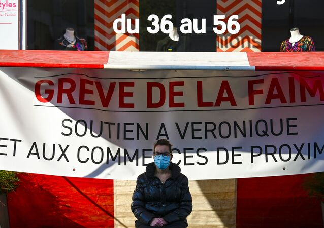Une commerçante française en grève de la faim contre la fermeture de son magasin