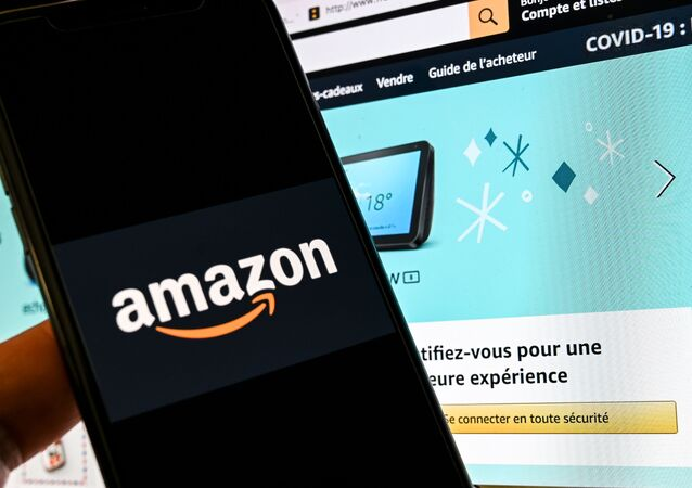 Amazon (Photo by DENIS CHARLET / AFP)