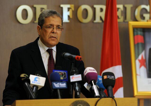 Othmane Jarandi, ministre tunisien des Affaires étrangères