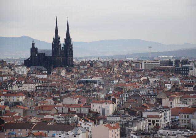 Le cathédrale de Clermont-Ferrand
