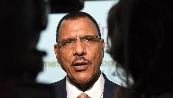 Mohamed Bazoum, le ministre de l'Intérieur du Niger, candidat à la présidentielle de décembre 2020 - Sputnik France