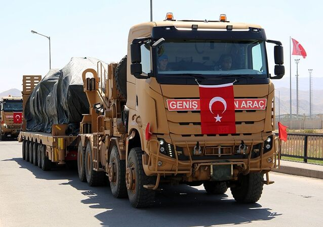 Des miilitaires tirques lors des exercices en Azerbaïdjan (Photo d'archive)