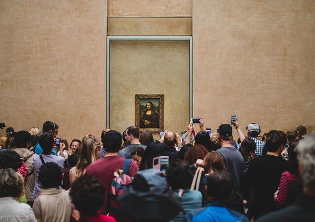 La célèbre oeuvre de Léonard de Vinci au Louvre