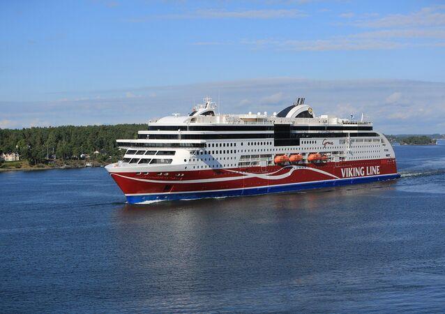 Un bateau de Viking Line