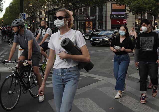 Paris lors de l'épidémie