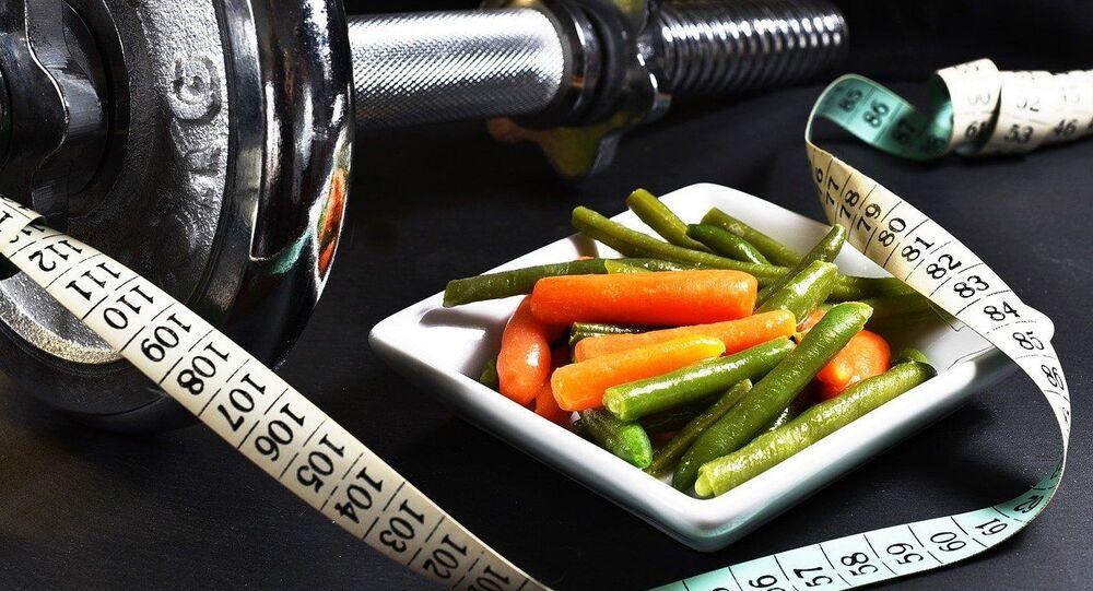 Des altères et des légumes