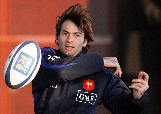 Christophe Dominici lors d'une séance d'entraînement en 2006
