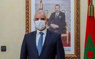 Le ministre de la Santé marocain Khalid Ait Taleb, dans son bureau à Rabat, le 20 novembre 2020.