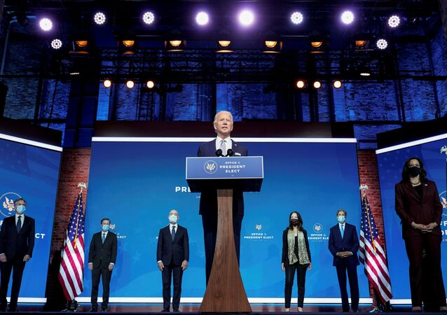 Le président-élu Joe Biden, Delaware, Etats-Unis, 24 novembre 2020