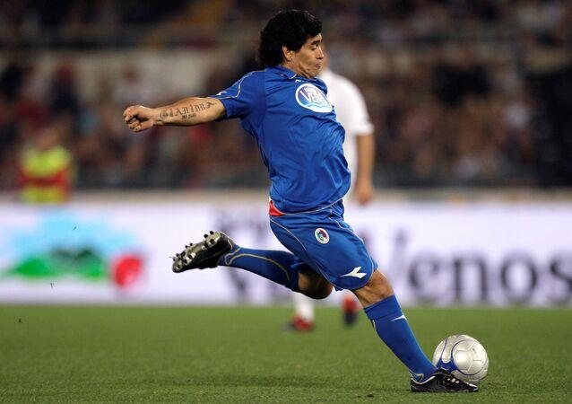 Diego Maradona en 2008