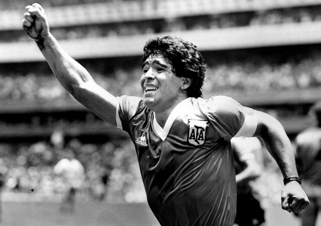 Diego Maradona (archives)