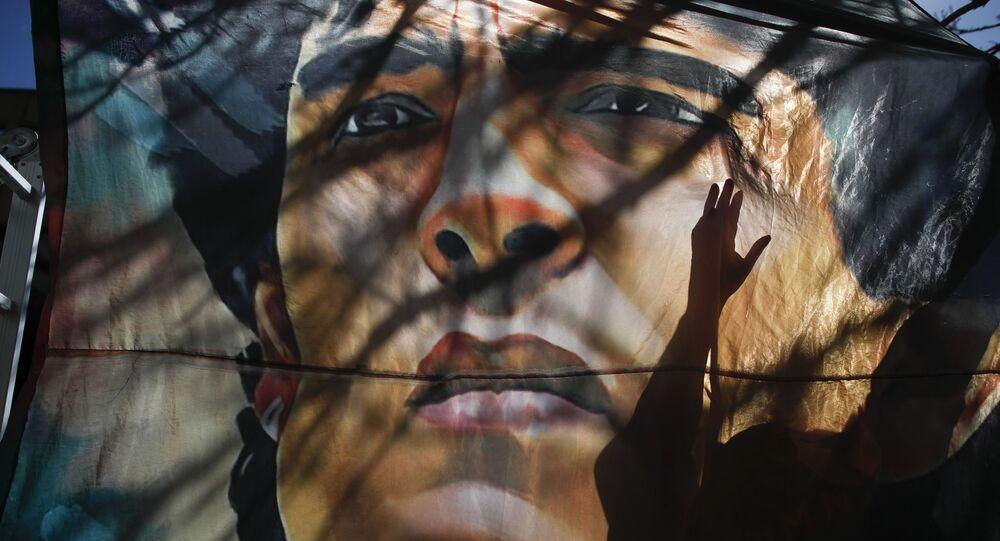 Une image de Diego Maradona (photo d'archives)