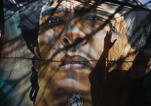 Portrait de Diego Maradona