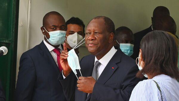 Alassane Ouattara, Président de la Côte d'Ivoire - Sputnik France
