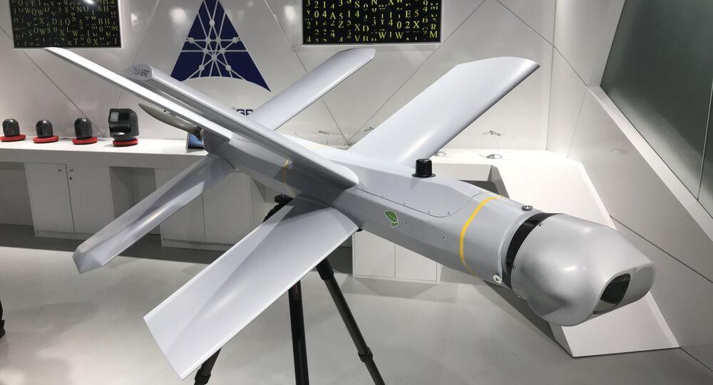 Le drone kamikaze Lancet créé par le groupe Kalachnikov