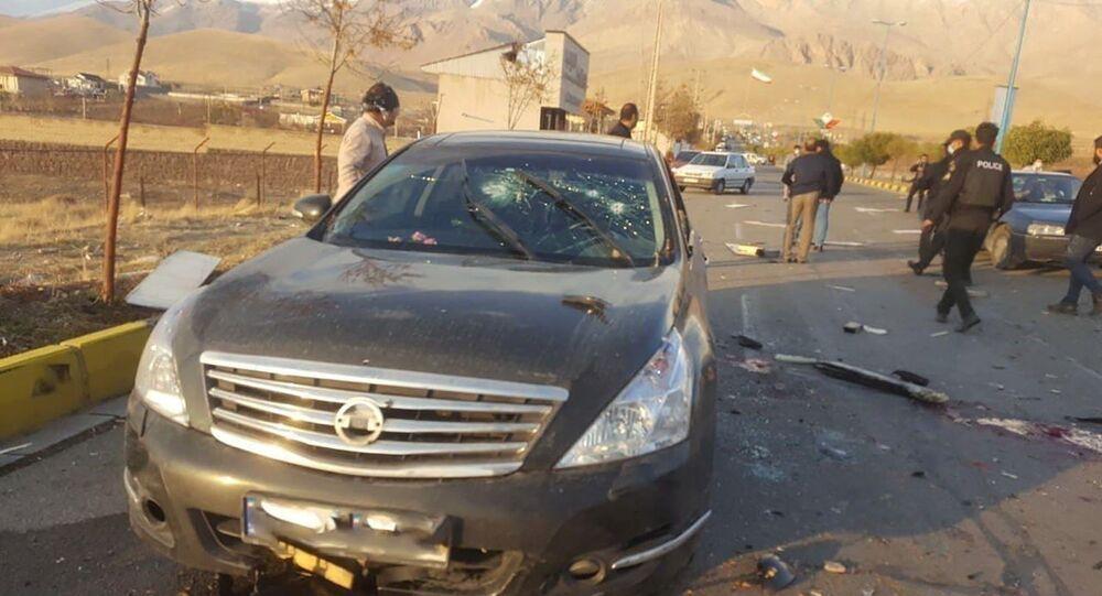 Image de l'attentat qui coûté la vie au savant nucléaire iranien Mohsen Fakhrizadeh