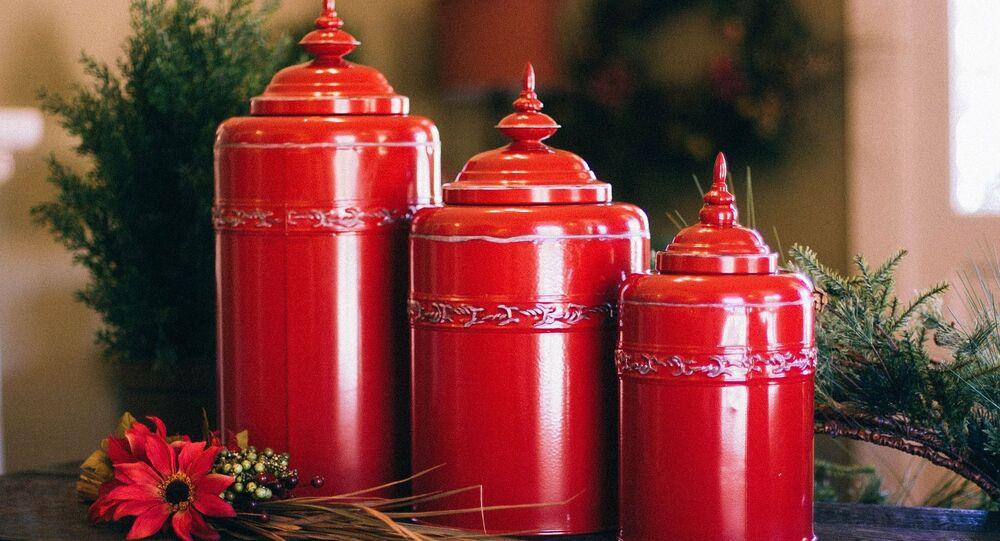 Des urnes funéraires