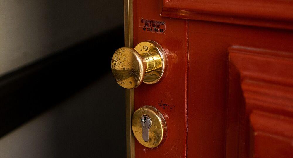Une porte, image d'illustration