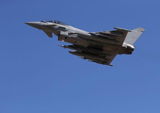 Un Typhoon britannique
