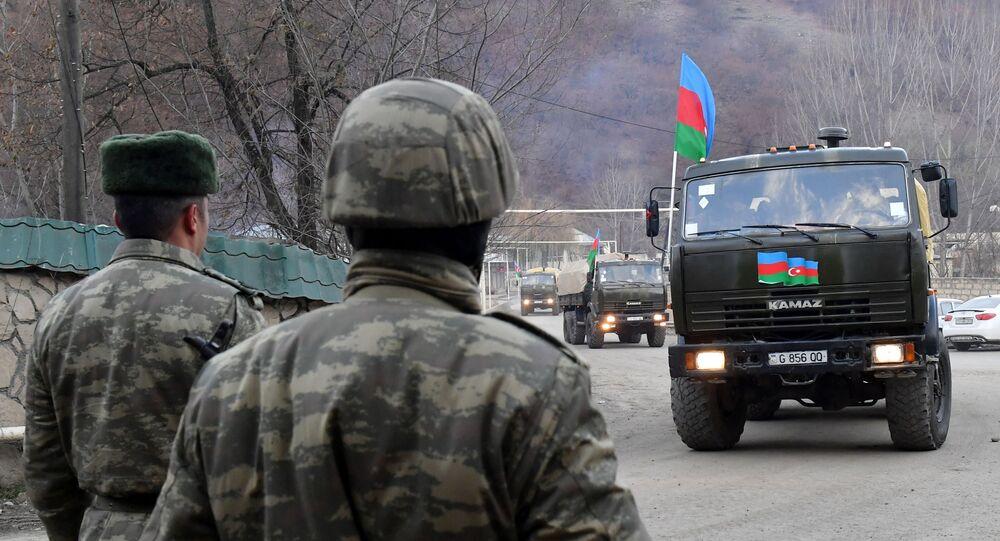 des militaires azerbaïdjanais au Haut-Karabakh (image d'illustation)
