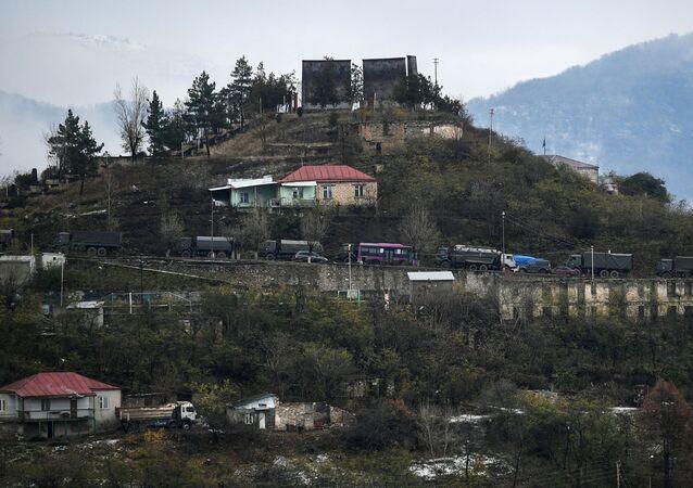 La ville de Berdzor la veille du passage du district de Latchin à Bakou
