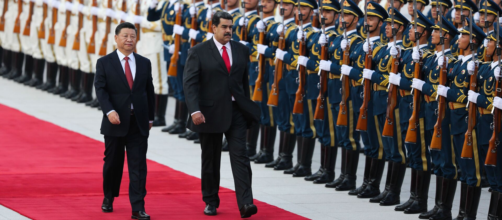 Xi Jinping et Nicolas Maduro - Sputnik France, 1920, 01.12.2020