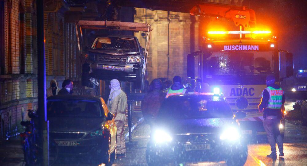 Un véhicule percute des passants en zone piétonne, plusieurs morts — Trèves