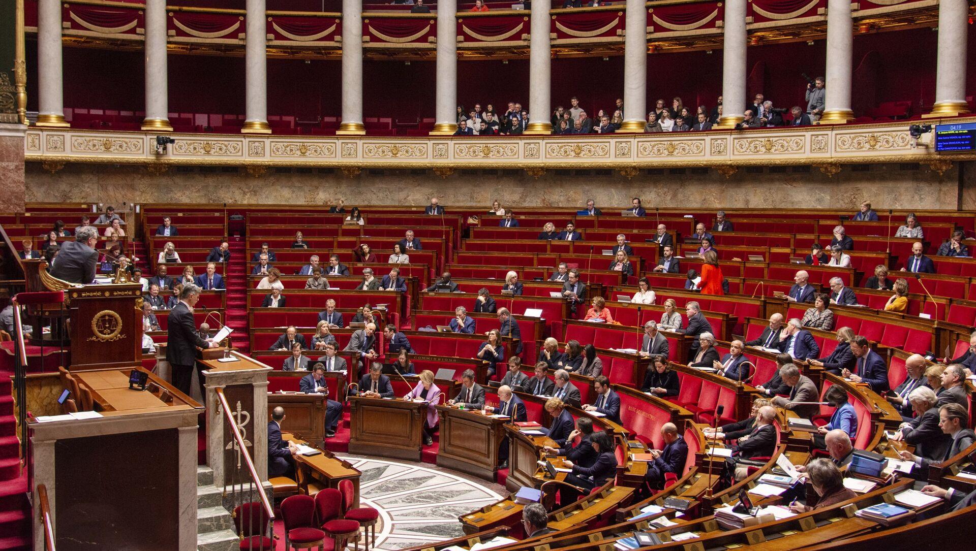 Assemblée nationale - Sputnik France, 1920, 02.08.2021