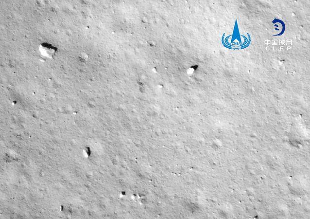 Un cliché réalisé par la sonde Chang'e-5