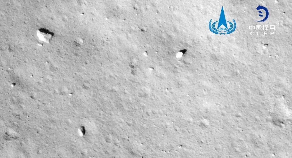 Une sonde chinoise s'est posée sur la lune, pour quel objectif — Espace