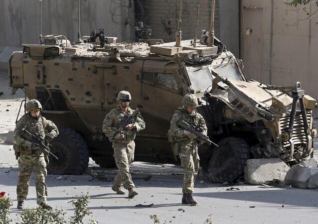 Militaires de l'Otan à Kaboul