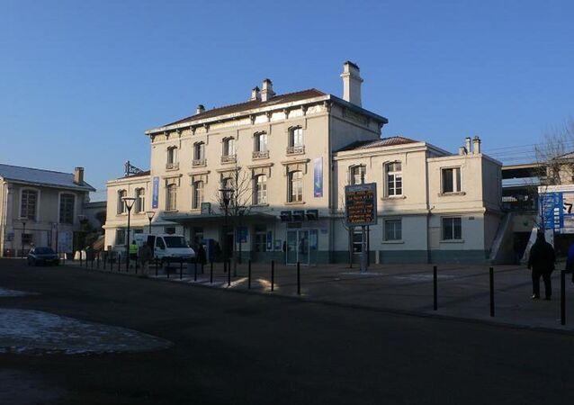 Brétigny-sur-Orge (Essonne, France) : La gare.