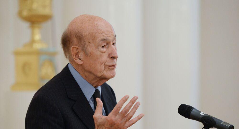 L'ex-Président de la République Valéry Giscard d'Estaing