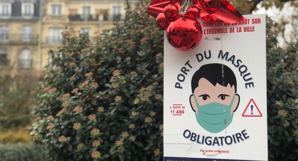 Port du masque obligatoire à Paris