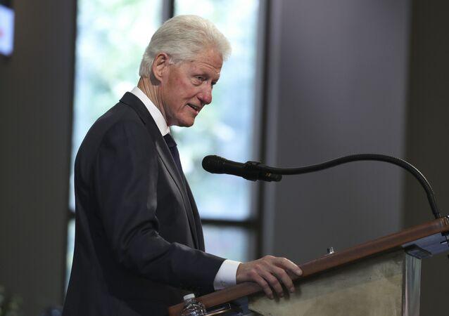 L'ex-Président US Bill Clinton