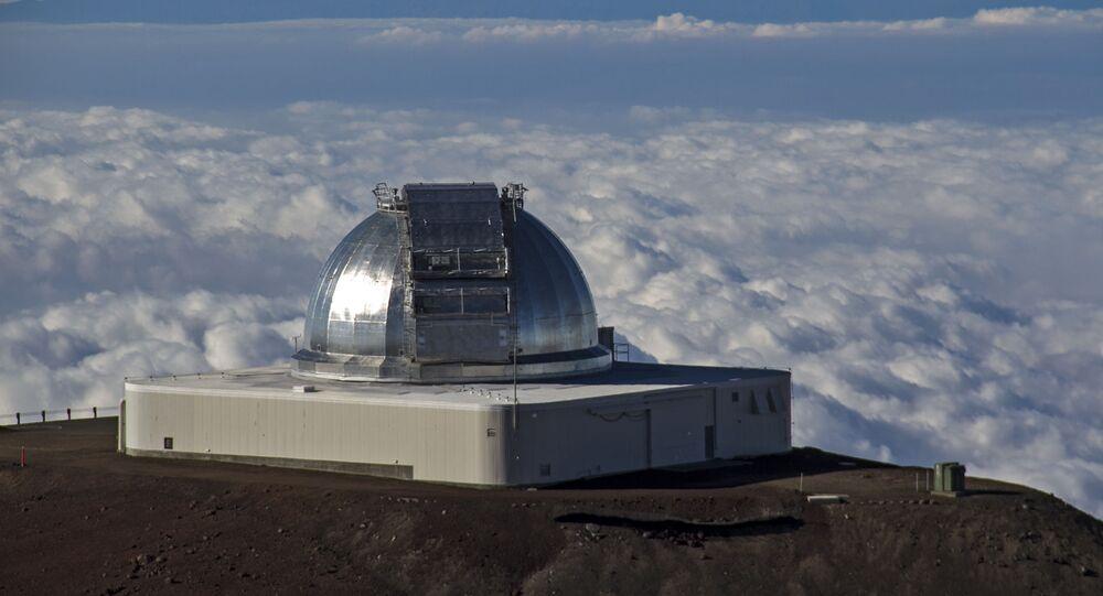 Le télescope IRTF de la NASA à Hawaï