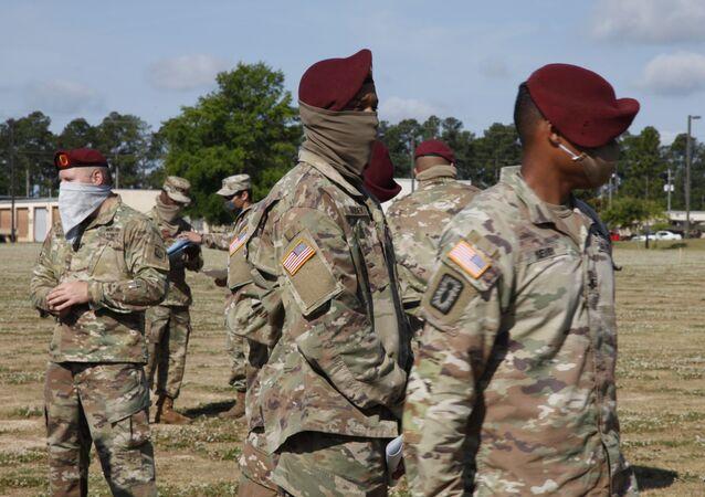 Des militaires à Fort Bragg (archives)