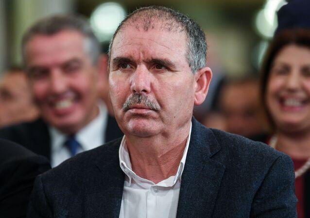 Noureddine Toubibi, secrétaire général de l'UGTT, principale centrale syndicale de Tunisie