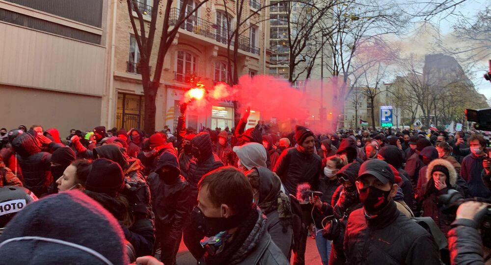 Une nouvelle manifestation contre la loi Sécurité Globale à Paris, 5 décembre 2020