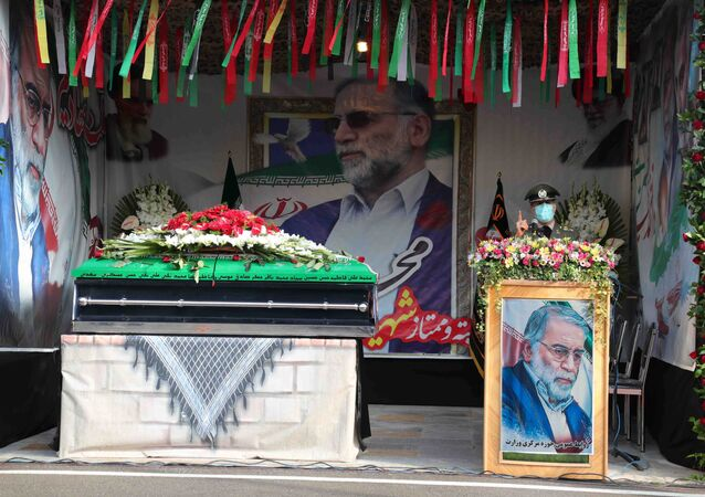 Funérailles de Mohsen Fakhrizadeh à Téhéran