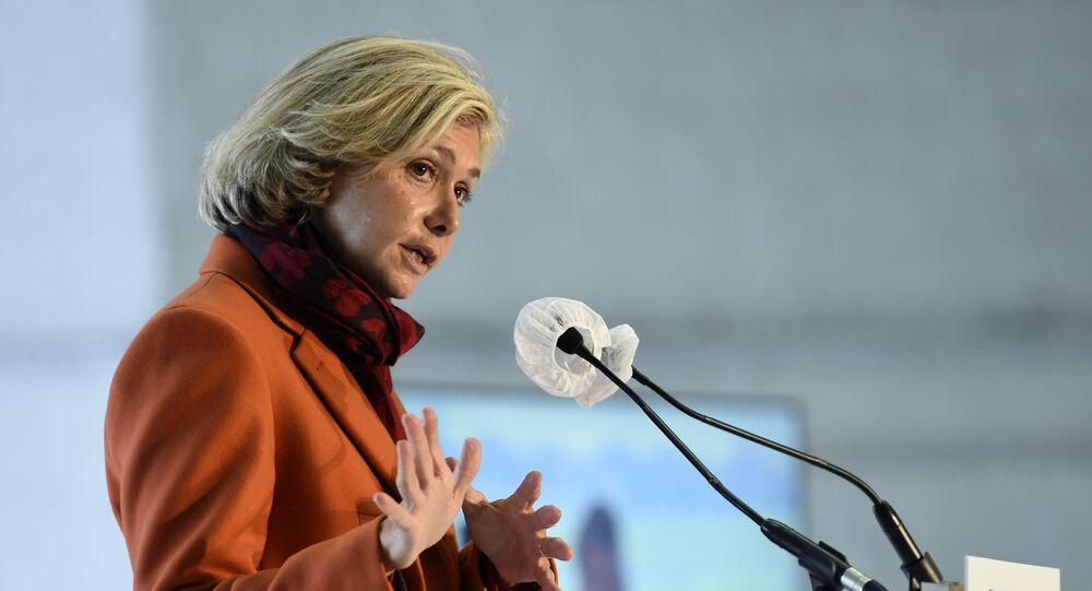 La présidente de la région Ile-de-France, Valérie Pécresse (Libres!)