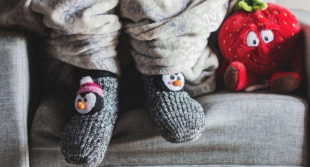 Des chaussettes (image d'illustration)