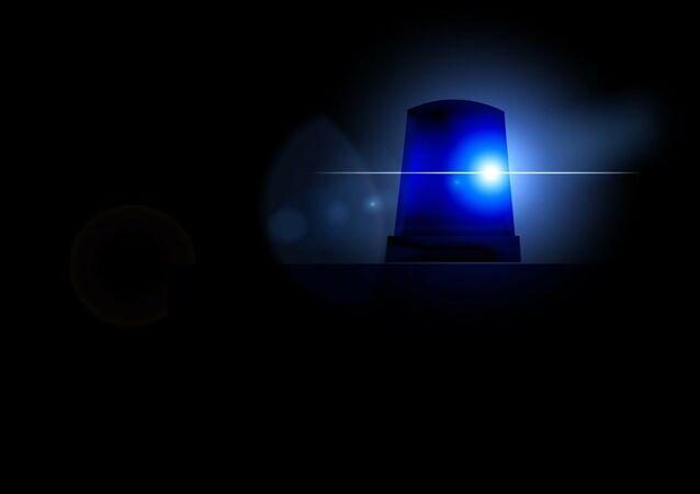 Une lumière bleue